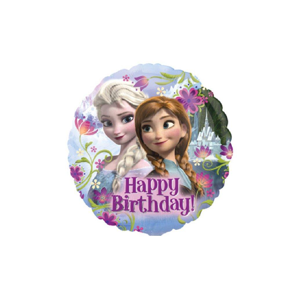 Balónek fóliový Frozen