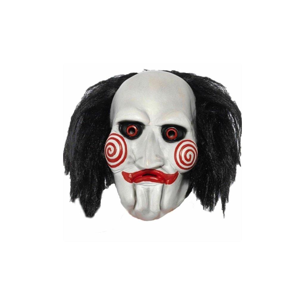 Maska na Halloween latexová Saw Billy