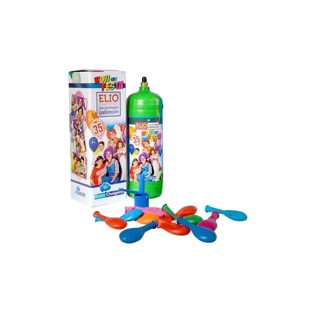 Helium do 35 balonků (balonky součástí balení)