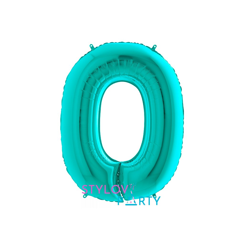 BALÓNEK FÓLIOVÝ číslo tiffany 0 105 cm