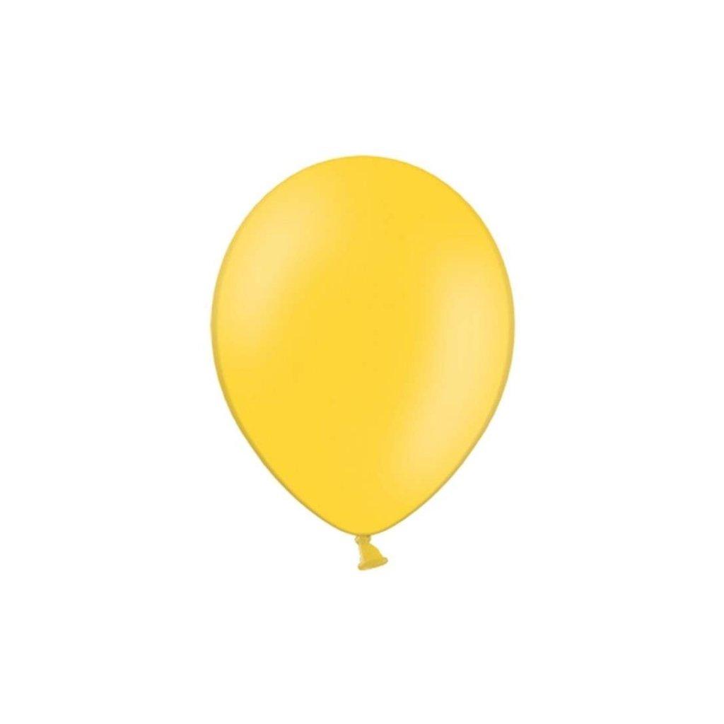 Balonky Strong latexové pastelově žluté 27cm 100ks