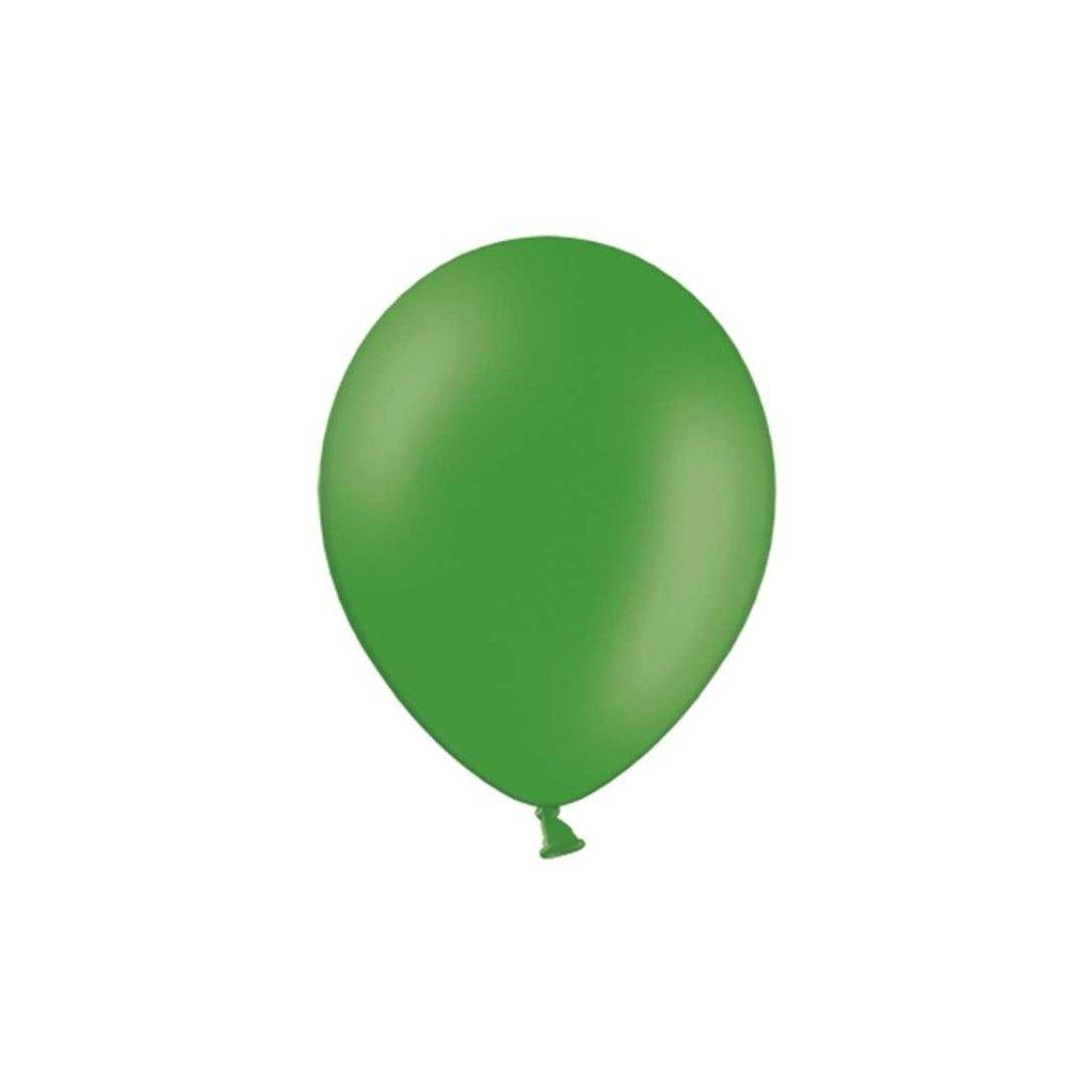BALÓNEK latexový 27cm smaragdově zelená 100ks