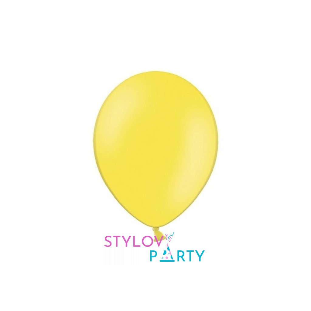 Balonky Strong latexové žluté 27cm 100ks