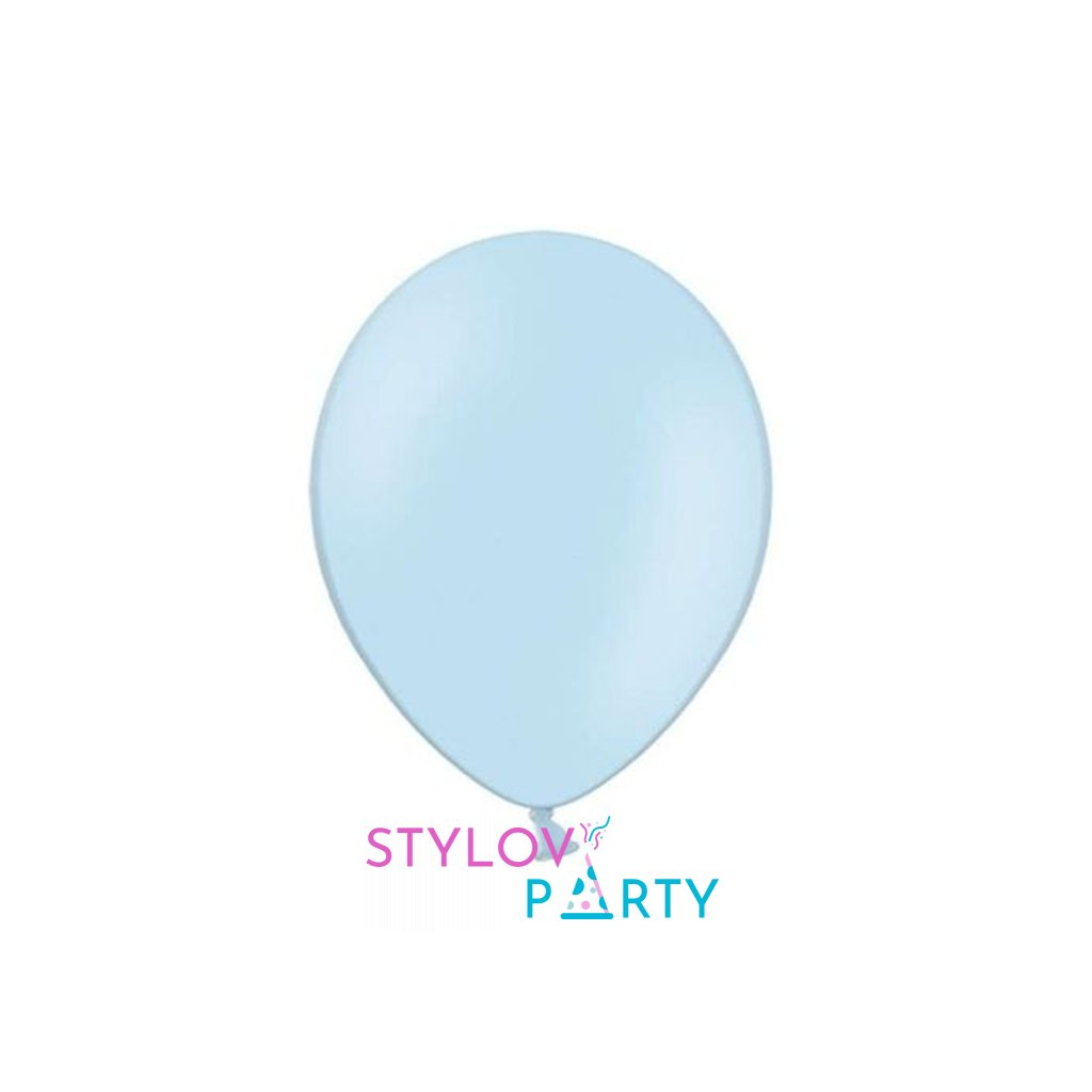 Balonek Strong latexový baby blue 30cm