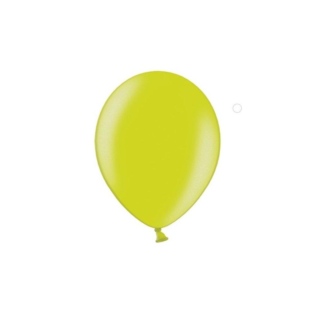 Balonek Strong latexový limetkově zelený 30cm