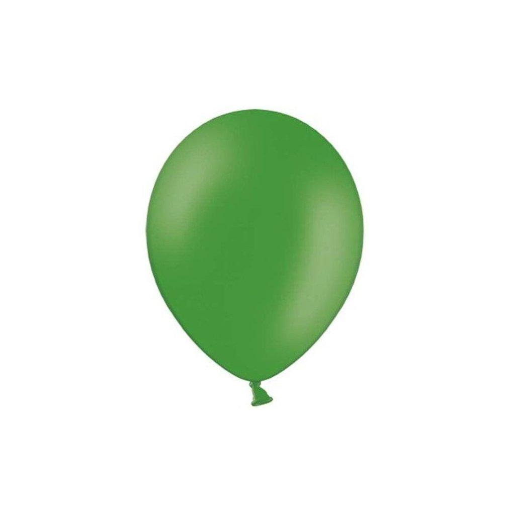 BALÓNEK latexový 30cm smaragdově zelená 1ks