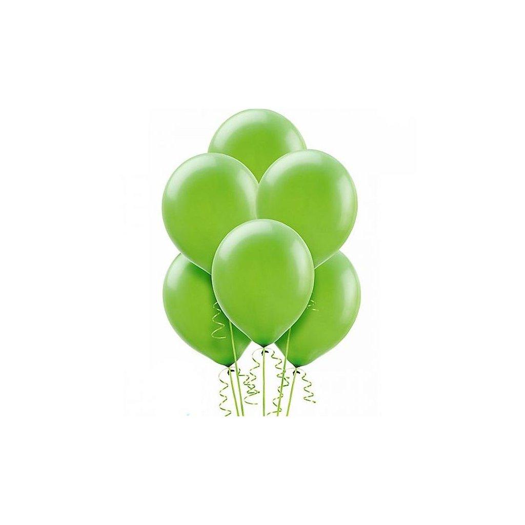 Balonek Strong latexový pastelově zelený 30cm