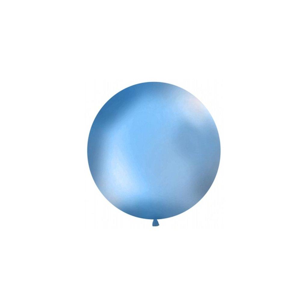 Balón Jumbo modrý 1m