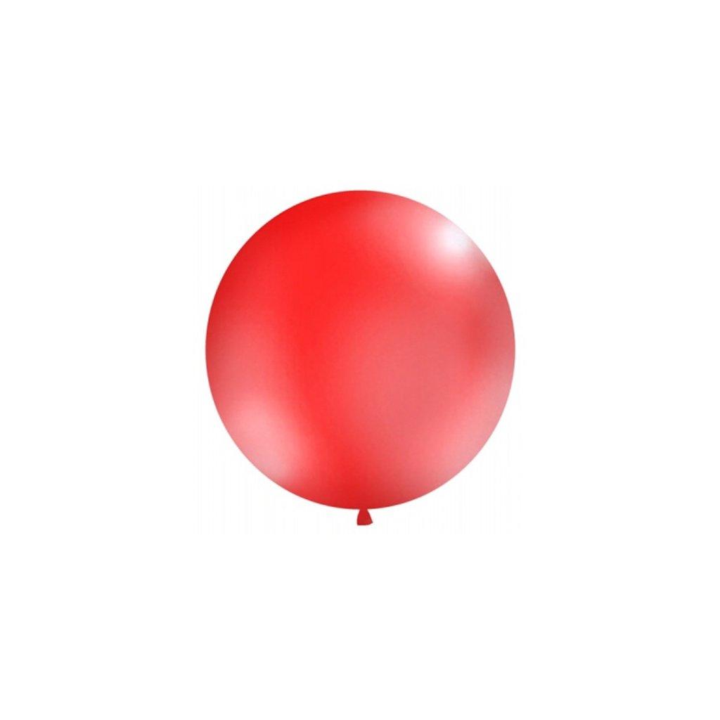 Balón Jumbo červený 1m