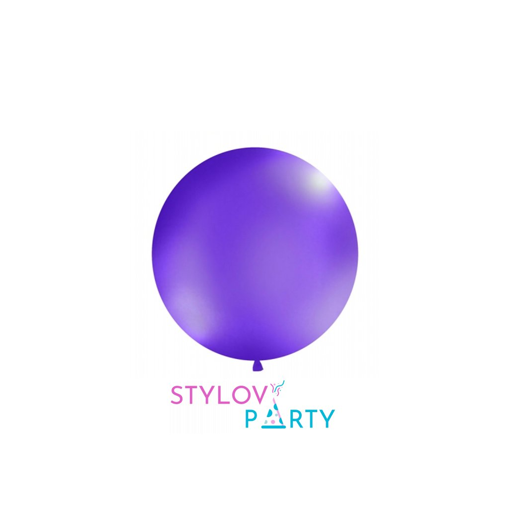 Balón Jumbo lila 1m