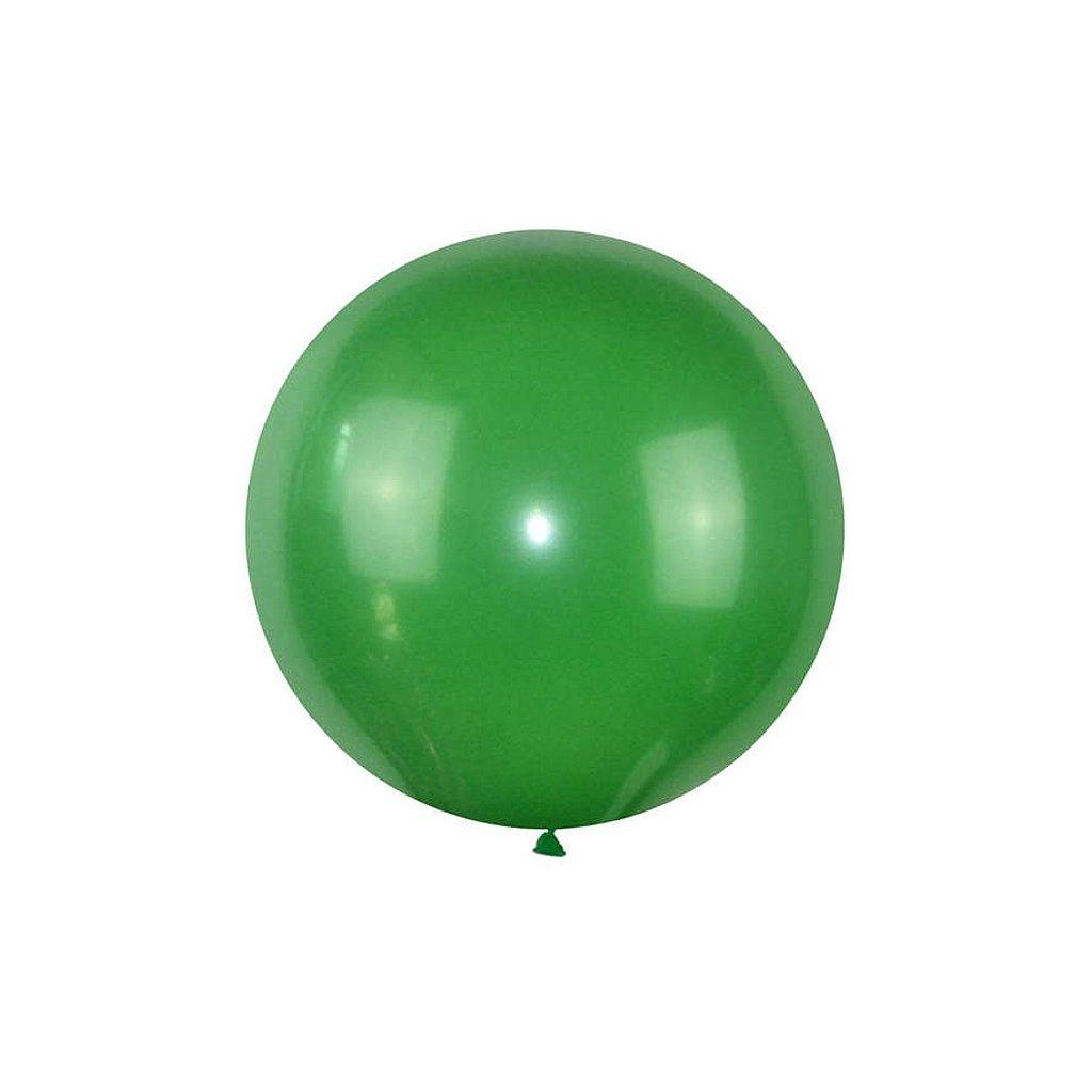 Jumbo zeleny balon