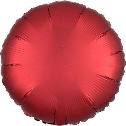 Balon kruhový foliový Sangrie 43 cm
