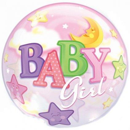 Balonek Bubbles Baby Girl 56cm