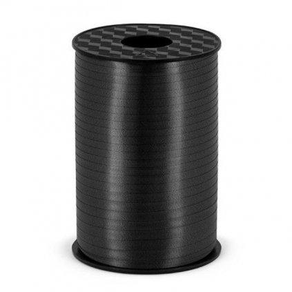 Stuha plastová vázací černá 5mm/225m