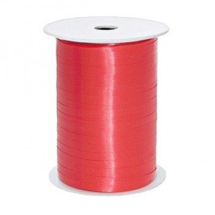 Stuha plastová vázací červená 5mm/225m