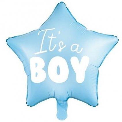 Balonek It's a boy fóliový sv. modrý