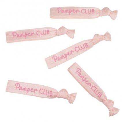 STUHY do vlasů Pamper Club růžové