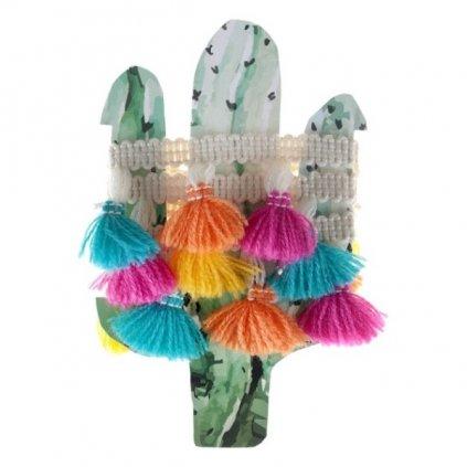 Stuha textilní Mexico 100cm