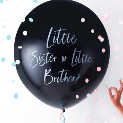 Balon Jumbo Little sister or little brother