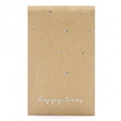 Kapesníčky papírové Happy tears 7,5 x 12 cm 30 ks