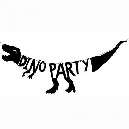 Banner Dinoparty  20x 90cm