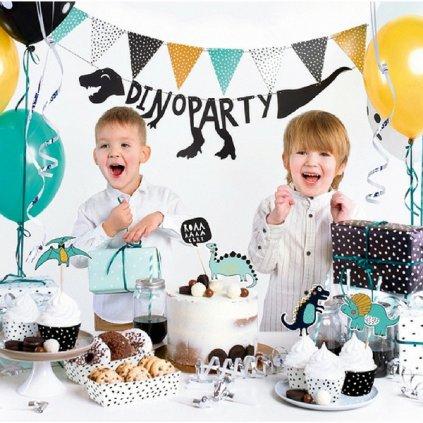 Party set Dinosauři mint 33ks