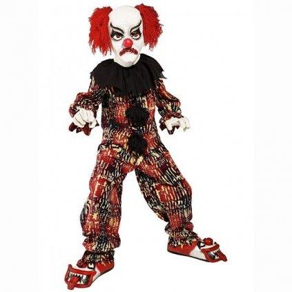 Kostým opravdu Strašidelný klaun ve střední velikosti