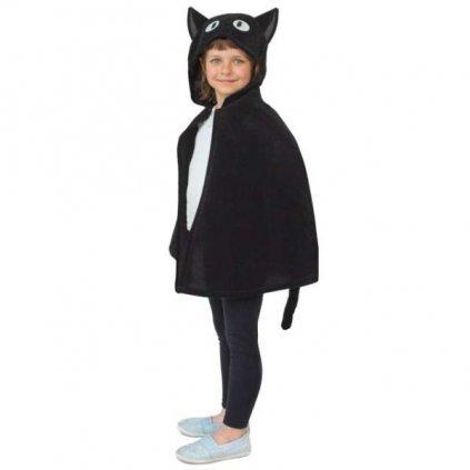 KOSTÝM Kočka dětský černý vel.UNI