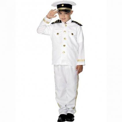 Kostým pro malé chlapečky ve stylu Námořní kapitán. Velikost L