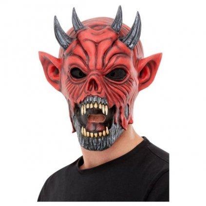 Maska pro dospělé ve stylu Ďábel.