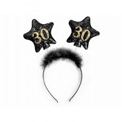 """Čelenka pro narozeninovou oslavu """"30"""""""