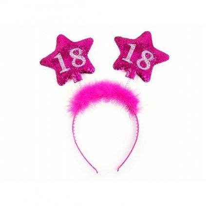 """Čelenka pro narozeninovou oslavu """"18"""""""