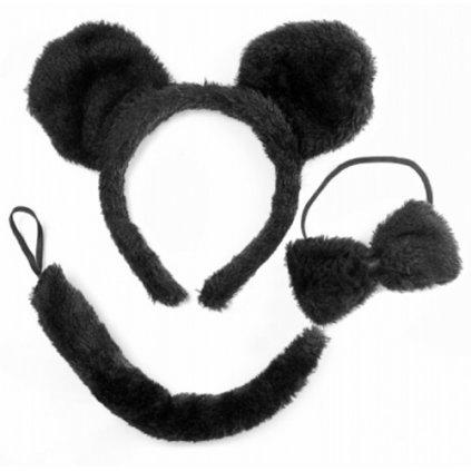 Sada Myška černá