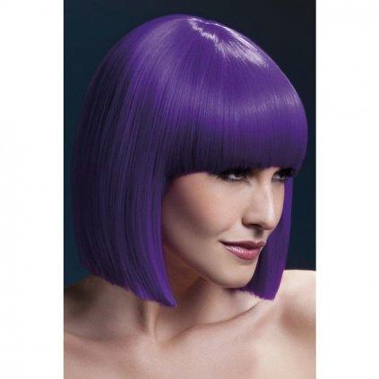Paruka z řady Fever Lola ve fialovém odstínu.