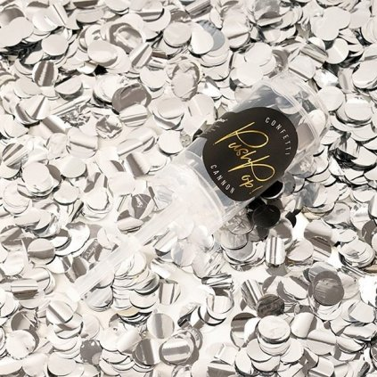 Konfety Push-Pop silver 8mm