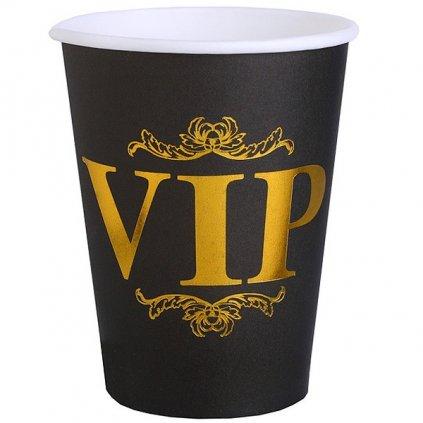 Kelímky černé VIP 270ml 10ks