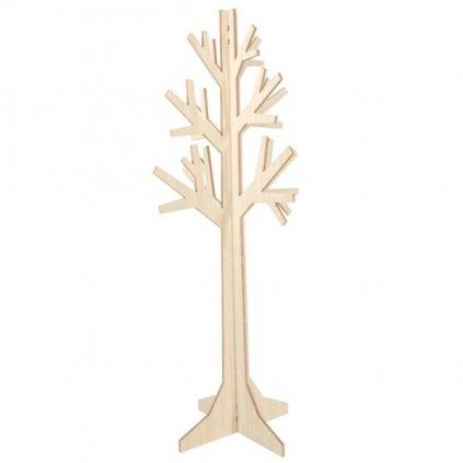 Dekorační strom dřevěný 50x50x120cm