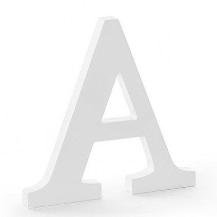"""Písmenko stojací dřevěné 20cm """"A"""" 1ks"""