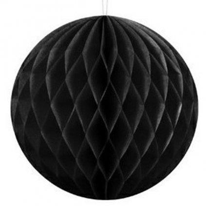 """Koule dekorační """" Honeycomb"""" černá vel. 40cm"""