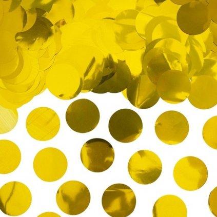 Konfety na stůl zlaté 15g