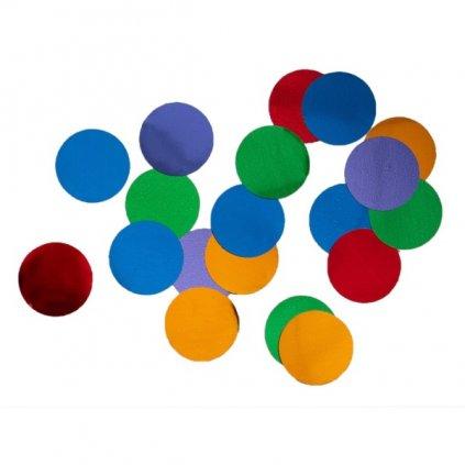 Konfety na stůl mix barev 15g