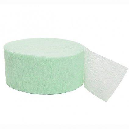 Serpentýna z krepového papíru  mint