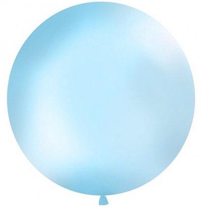 Balon latexový Jumbo sv. modrý 1m