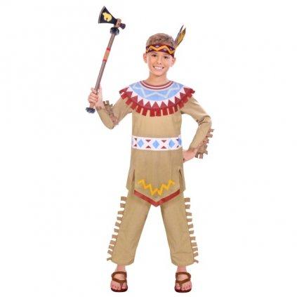 KOSTÝM dětský Indián 4-6let