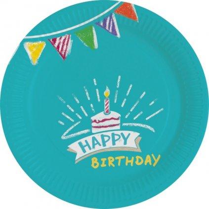 TALÍŘE My Birthday Party 18cm 8ks