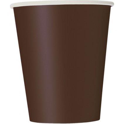 Kelímky papírové Brown