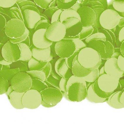 KONFETY limetkově zelené 100g