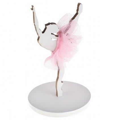 DRŽÁK NA JMENOVKU Baletka 5x8cm