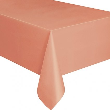 Ubrus plastový Coral pro obdélníkový stůl 137x274cm