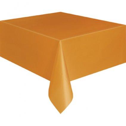 Ubrus plastový Pumpkin Orange